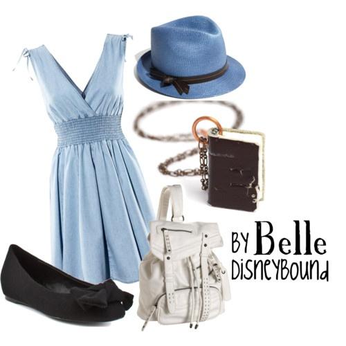 : Hats, Dresses Up, Disney Princesses, Belle Dresses, Outfit, Disneybound, The Dresses, Disney Bound Belle, Disney Movie