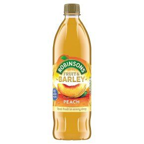 Concentrated Juice || Fruit & Barley No Added Sugar Squash- Peach