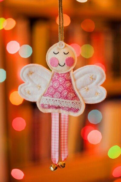 Felt Christmas Angel.