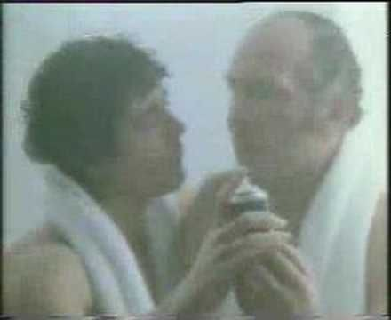 Brut TV advert with Henry Cooper and Kevin Keegan - oh I say!