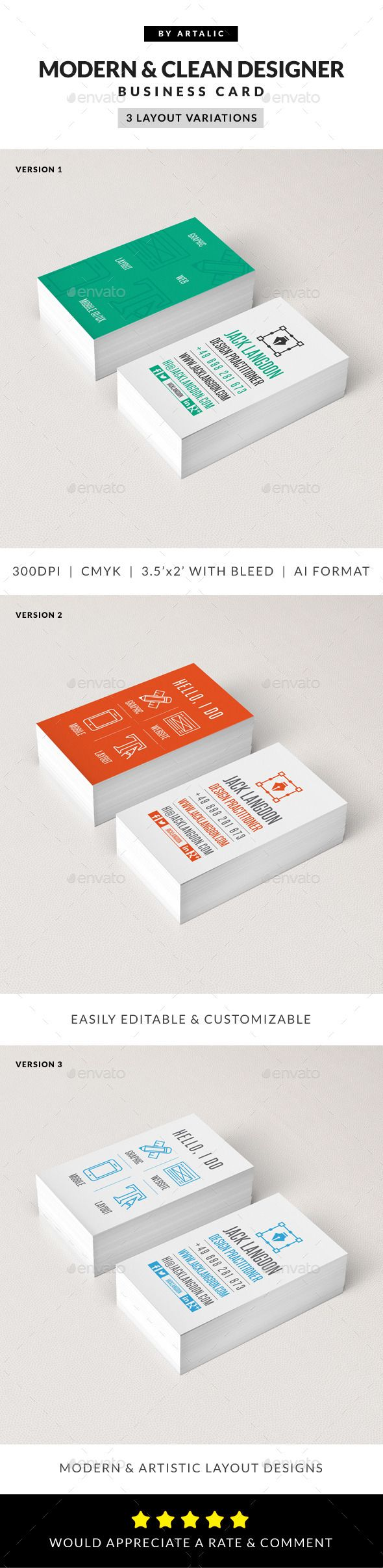 30 best creative name card images on pinterest business cards creative modern iconic business card magicingreecefo Choice Image