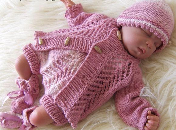 Baby Clothes Knitting Patterns : Pin by paulina lehle on machine knitting pinterest