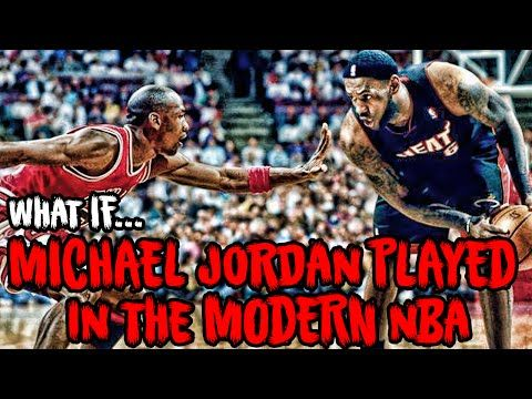 What If MICHAEL JORDAN Played In The Modern NBA? - YouTube
