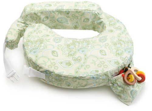 My Brest Friend Inflatable Travel Nursing Pillow in Green...
