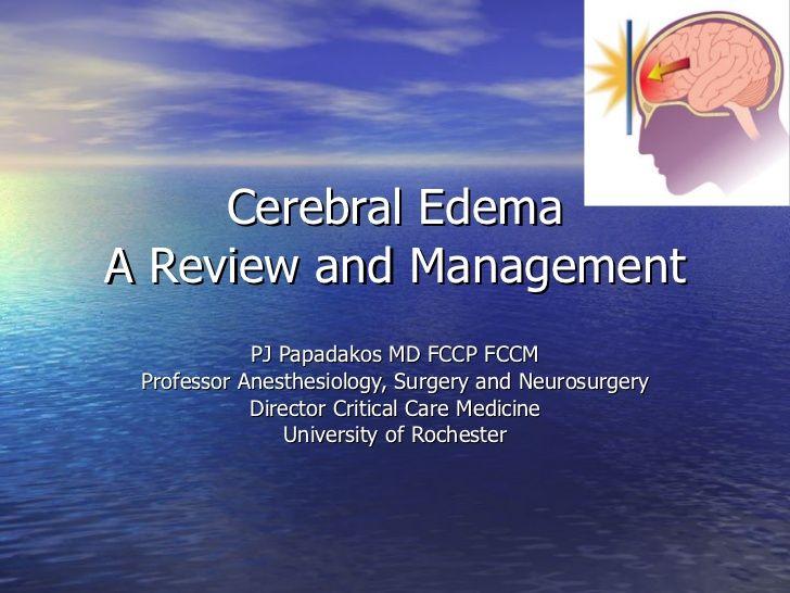 Cerebral Edema by scribeofegypt via slideshare