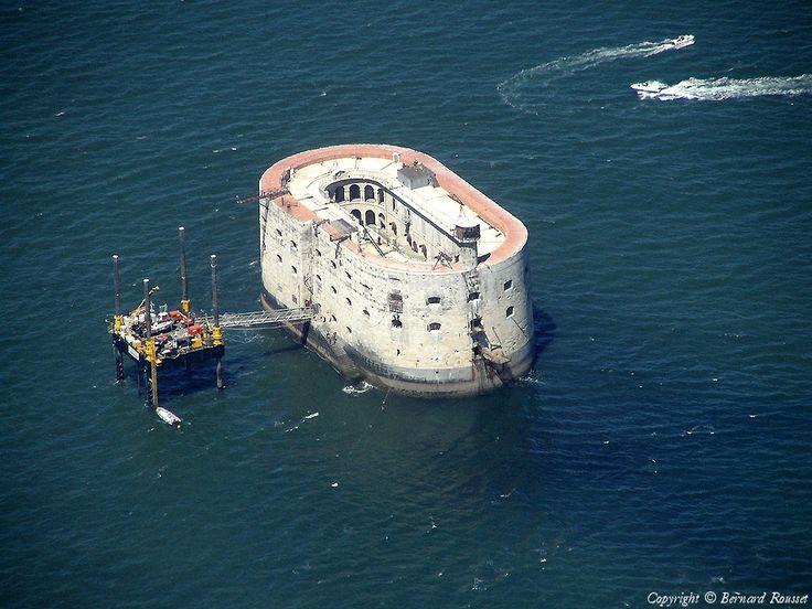✈️ Photo aérienne de Fort Boyard - Charente-Maritime (17)