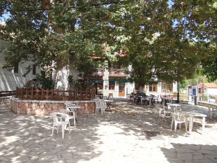 Πλατεία στο χωριό Κερπινή