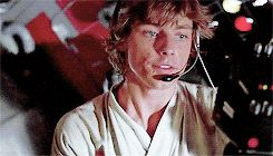 Mark Hamill / Luke Skywalker / #GIF