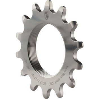 "Image of All-City Track Cog Stainless - 1/8"" - silver"