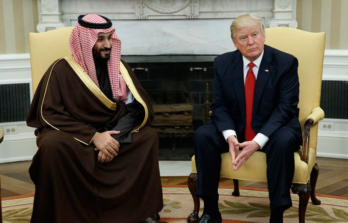 WASHINGTON – US President Donald Trump met with Deputy Crown Prince Muhammad Bin Salman, second deputy premier and minister of defense, in the Oval Office of the White House on Tuesday. This was the first meeting of Trump at the White House with a high-ranking official from the Arab and Islamic world after assuming the