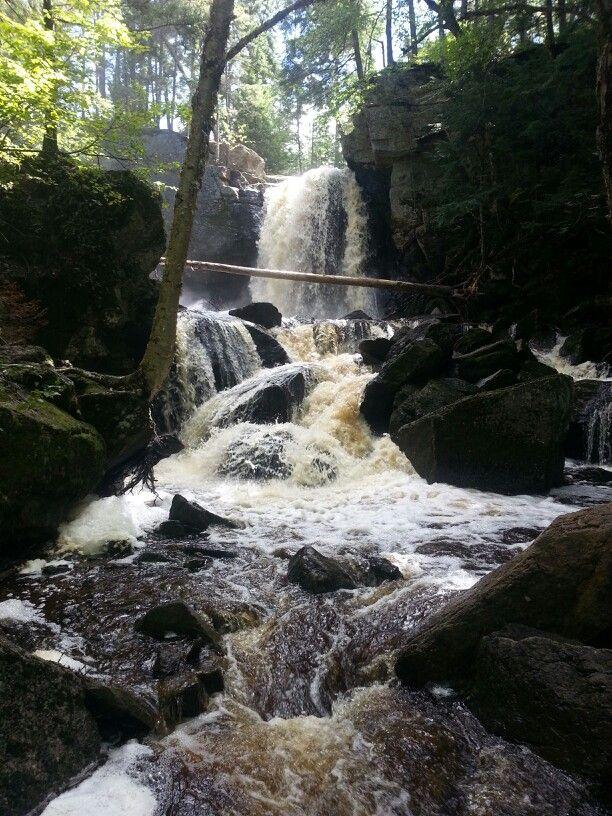 Lower Joslin Falls outside Fredericton, NB