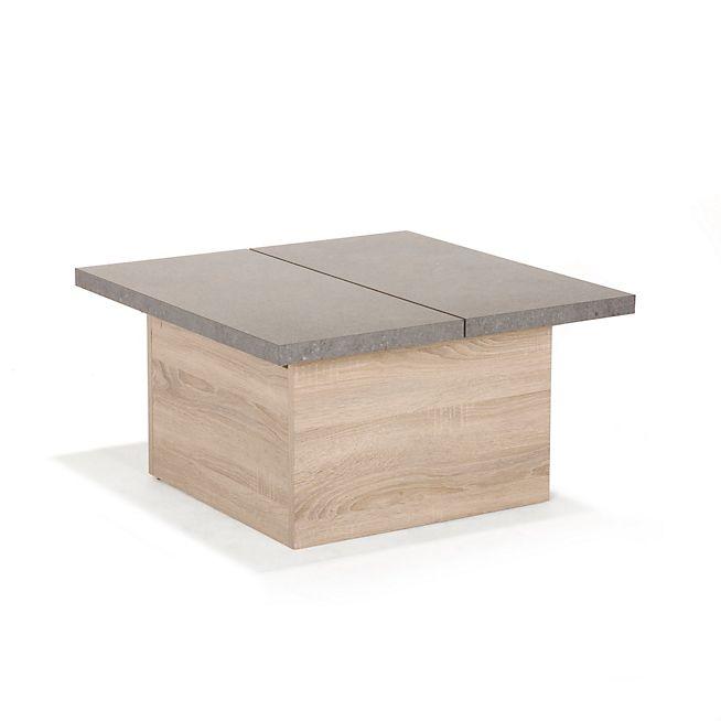 1000 id es sur le th me table basse avec rangement sur - Table basse avec tablette relevable ...