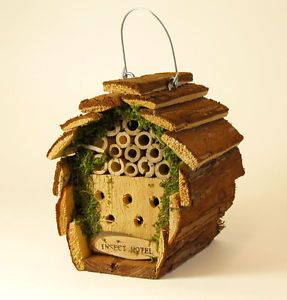 diy bug house | Insect BEE BUG House Hotel Shelter                                                                                                                                                      More