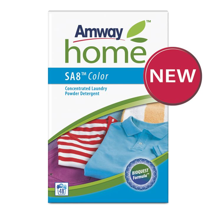SA8™ Color Concentrated Laundry Powder Detergent 3kg – AMWAY SA8 Colour contains bio-enzymes and biodegradable cleaning ingredients to remove dirt and stains https://home-beauty.org/amway/sa8-color-concentrated-laundry-powder-detergent-3kg-amway/