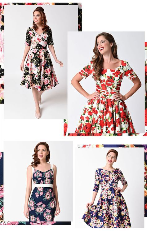 Mary, Mary, quite extraordinary, how does your closet grow? We're definitely having a moment with florals this Spring.