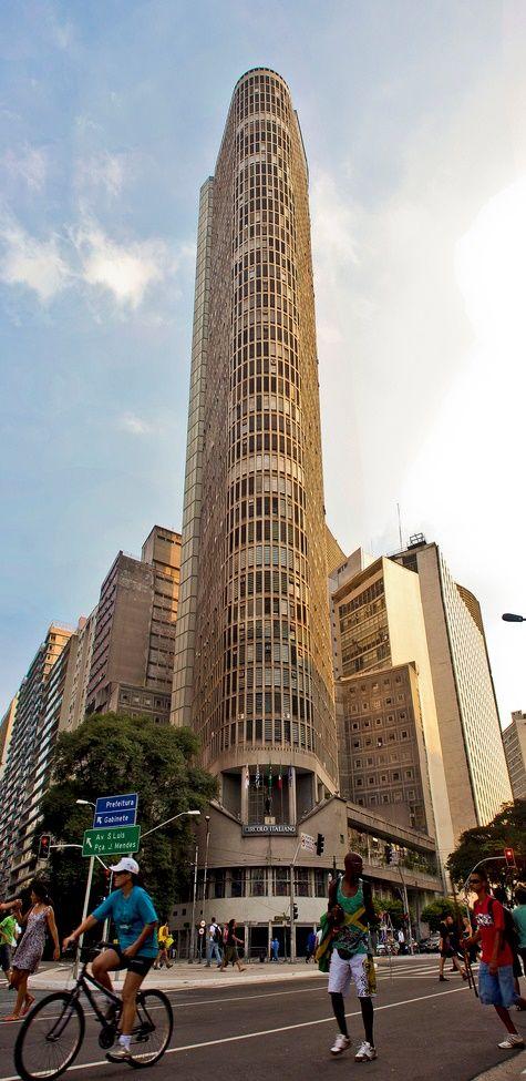 Edifício Itália, São Paulo - Brasil (Valeu Cristina)