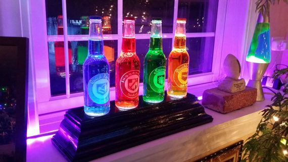 Glowing Perk-A-Cola Bottles Call of Duty by GodfathersManCave