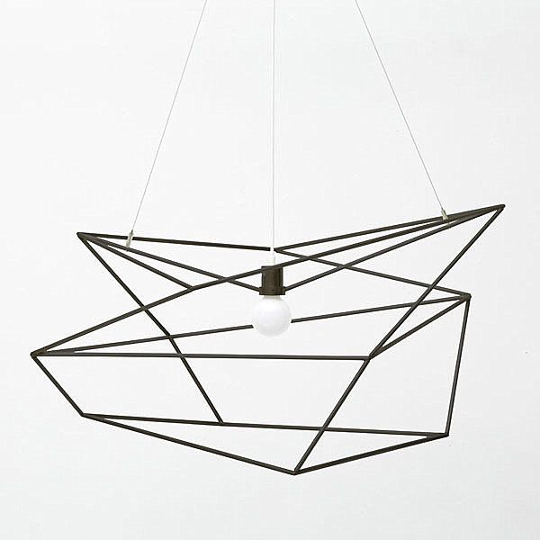 Beautiful Pendant Light Design and Its Type: Simple Beauty Angular Modern Pendant Lighting For Modern Space ~ novavn.com Lamps Inspiration