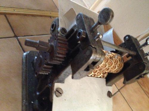 Antike Bonbonmaschine Walzen Stanze U S W In Baden