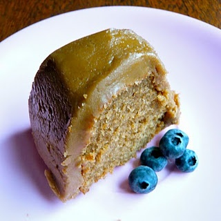 Cake. Gluten Free, fructose friendly Caramel Ginger cake! Yum! Recipe.