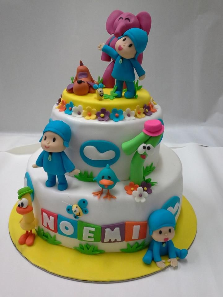 Cake Decoration For Kid : 538 best KIDS Fondant cakes images on Pinterest Fondant ...
