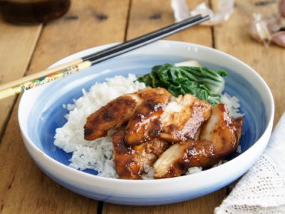 Garlic and Ginger Teriyaki Sauce