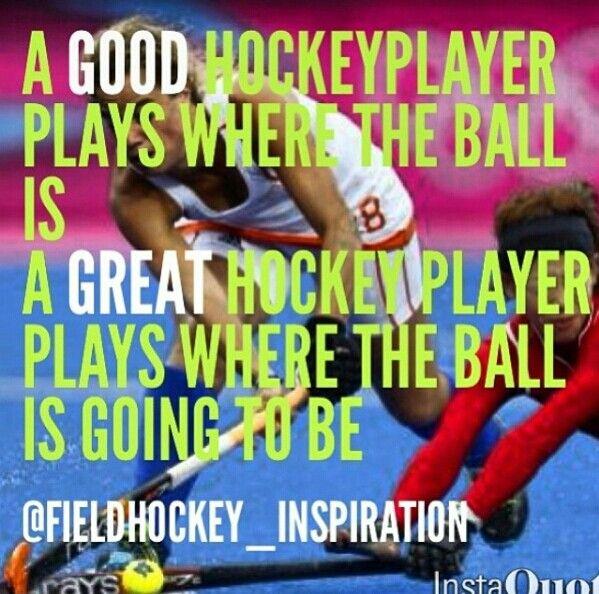 Good/great hockey player