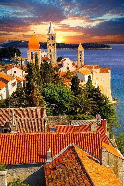 Rab Island, Croatia Saving all these Croatia pics for reference when we go in a few years.