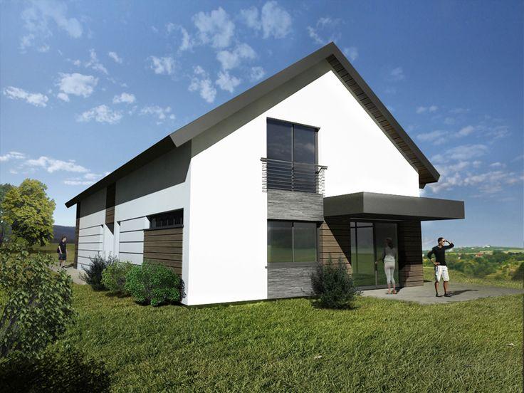 Elewacja_z_drewna_i_kamienia_projekt_elewacji_domu