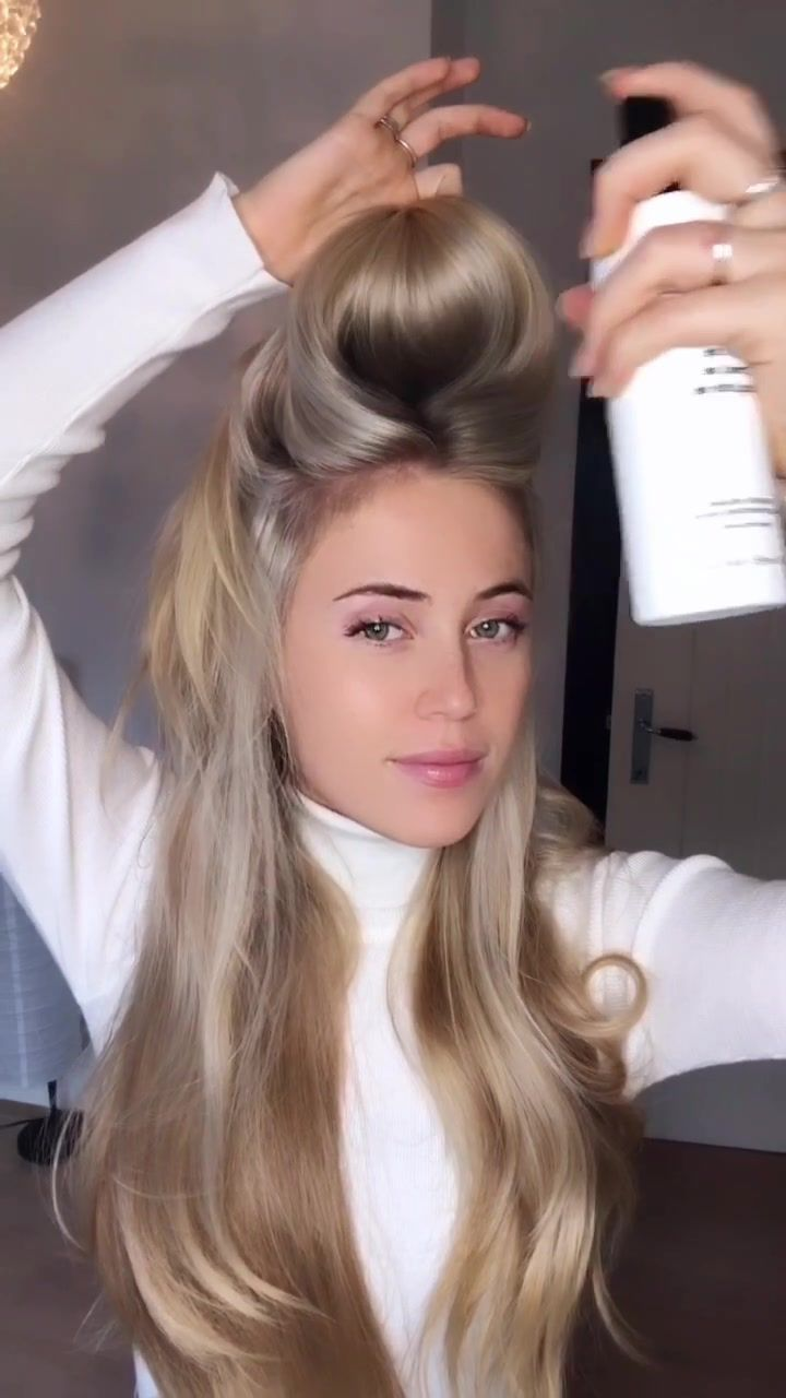 Lilly Lillyvanbrooklyn On Tiktok I Will Make A Vid On How I Use All My Haircare Products On Monday Hairtok Fyp Scarf Hairstyles Hair Styles Hair Care