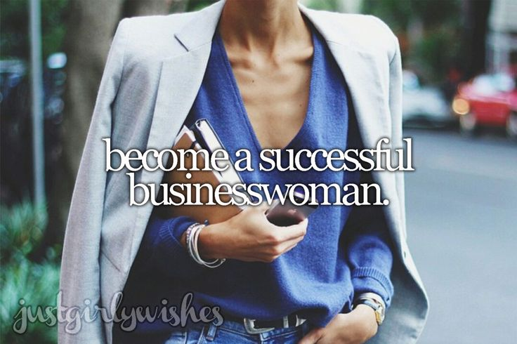 Bucket List: Become a successful businesswoman