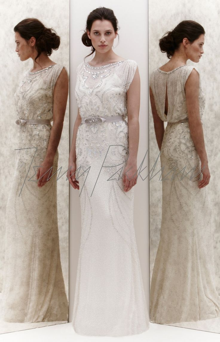 ESME Why didn't I see you before I designed my wedding dress?? I would have used some elements from this stunning dress by Jenny Packham