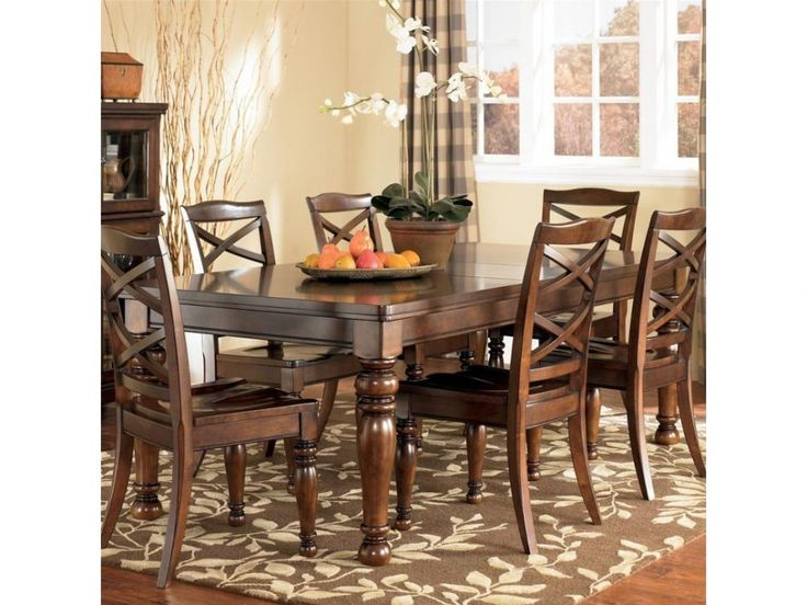 Dining Room Ashley Furntiure Dining Room Sets Have Dining Table Sets 6 Chairs Have Some Fruits On The Table Top Above Laminate Wood Floor Tips in Searching for Discount Dining Room Sets