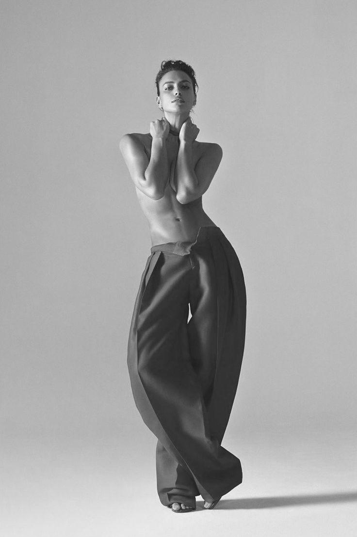 Irina Shayk for Harper's Bazaar China, March 2015. Photographed by: Koray Birand
