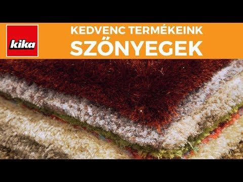 Kedvenc termékeink - Szőnyegek | Kika Magyarország - YouTube