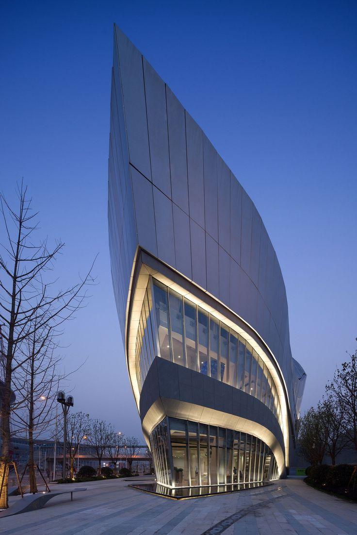Hongqiao world centre gallery shanghai china by aedas