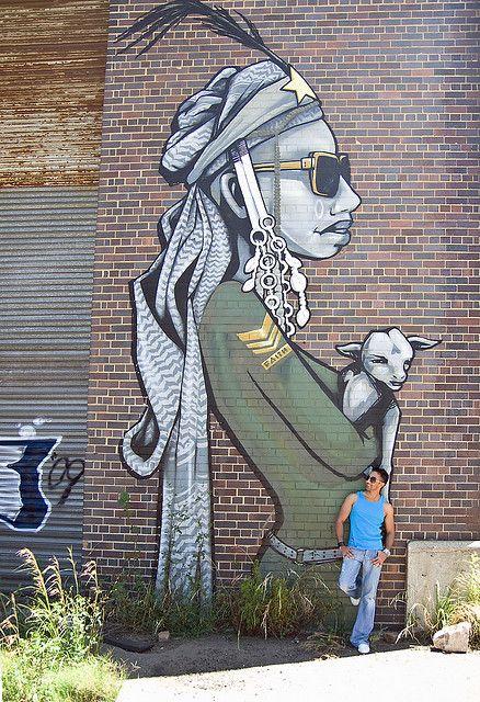 Faith47 - The Lion Sleeps Jozi South Africa 000 street art