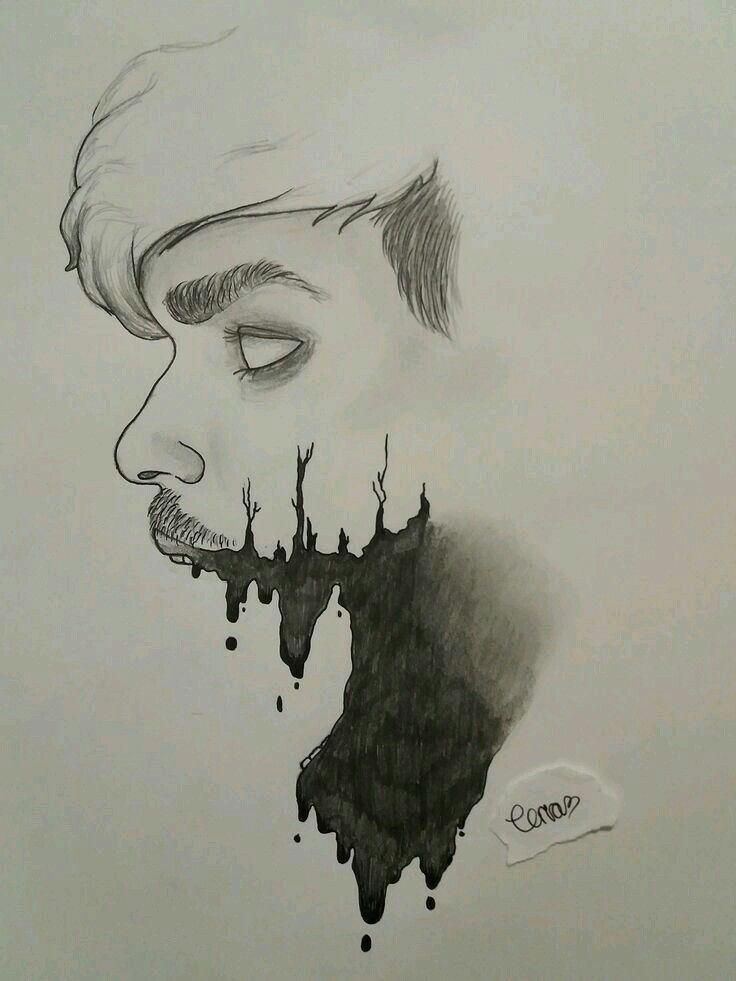 Bad Soul Desenhos Escuros Desenhos Zumbis Desenhos Assustadores