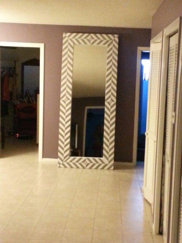 15 best diy floor mirror images on pinterest floor mirrors diy floor mirror 3 showing overall height solutioingenieria Choice Image
