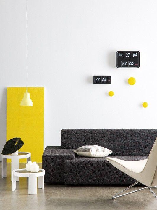 Colour Combination: Yellow + Black