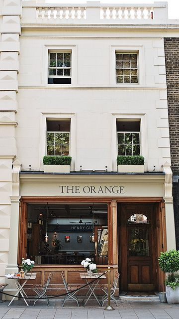 The Orange,  London   this is around the corner from where Chelsea Barracks is/was, my old local