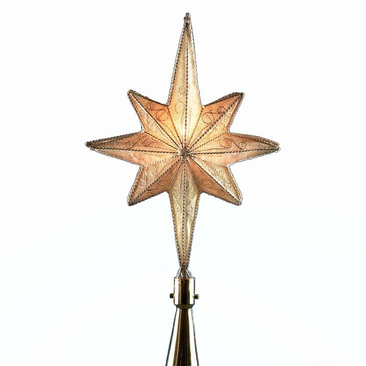 7 best christmas tree star toppers images on pinterest star tree the kurt adler gold metal star treetop is an 8 point star for indoor or outdoor use shop at house of holiday for christmas tree toppers more junglespirit Choice Image
