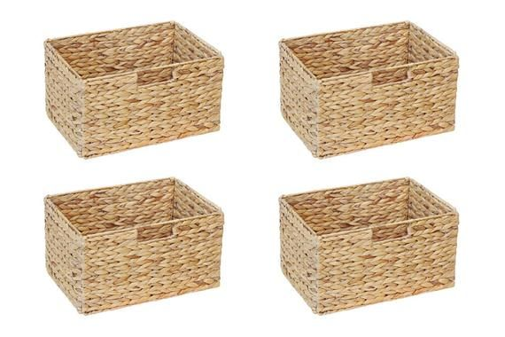 Ikea Billy Shelf Basket 37 X 25 X 20 Cm From Water Hyacinth