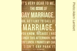 Marriage is not called straight marriage!