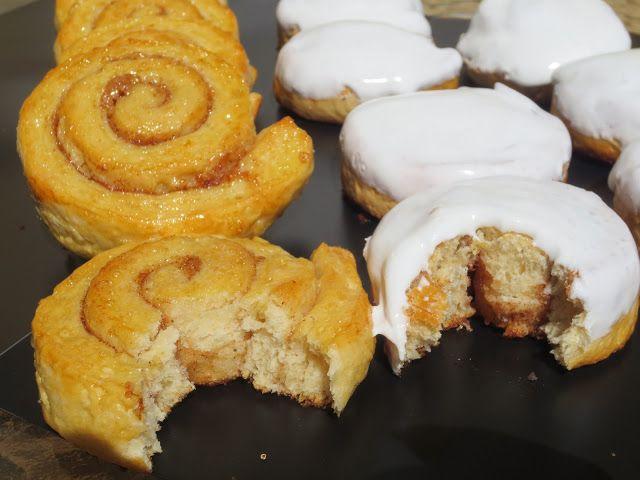 Deliciosos rollos de canela , muy fáciles de realizar con el toque de canela con o sin glaseado.  Con KitchenAid .