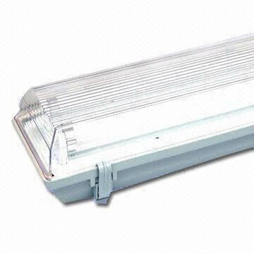 fluorescent light covers | Fluorescent Light Fitting with 2 x 36W Power and PC Cover