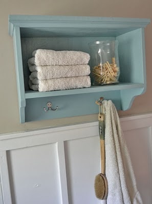Diy shelf, this is what I need for above the toilet!