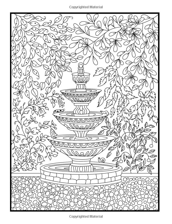 90 Coloring Pages Flower Garden