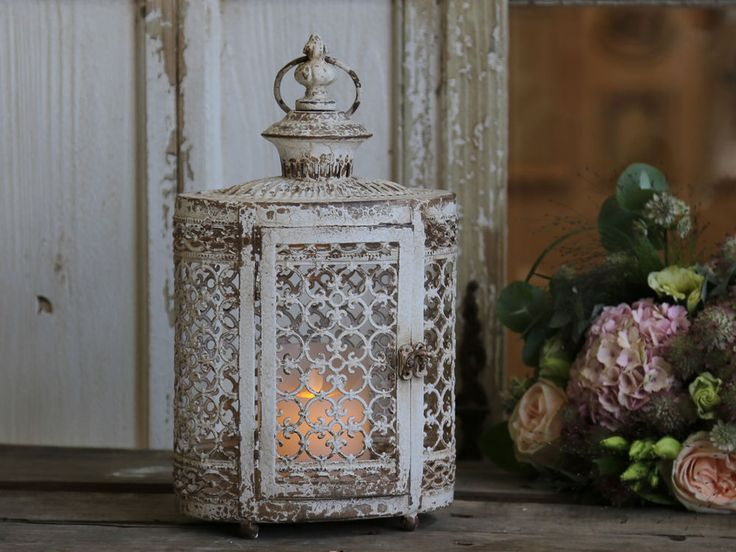 Antique Vintage Style Moroccan Garden Lantern Candle Holder Indoor Outdoor