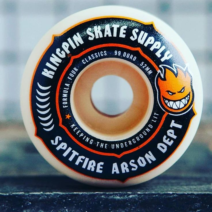 Why are @spitfirewheels x @kingpinskatesupply formula 4 wheels better?  Because they skate faster they're easier to control they're more durable and they last longer! #ridethefire#burnforever | snapchat @ http://ift.tt/2izonFx